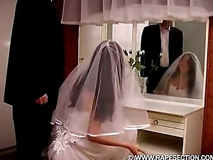 Bride Gets Brutal Present Free greater than sexhubhdcom Mating Hub HD