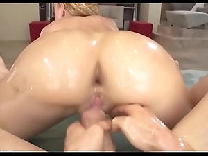 Oily Busty Girl Twerks on the Cock and Shoted Jizz in Month - chatscams.com