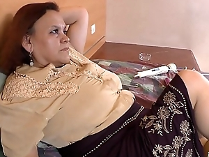 LATINCHILI Granny Gloria masturbating latin cunt
