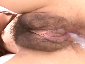 lives.pornlea.com Asian juvenile being cum inside her pussy