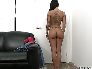 Christy Mack first Porn Audition
