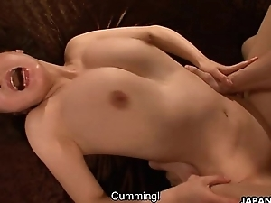Creaming in her soaking wet pussy pie