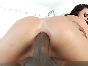 Roxy Raye pounded in the ass at the end of one's tether black flannel