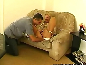 Blonde Dutch Retro MILF Be thrilled by