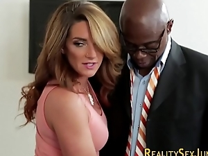 Housewife fucks black sandbar