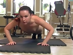 Naughty annabelle lee carrying out crunches naked - nearly videos on DigitalTeenPorn.com