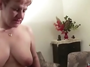 Two German Granny in Porn Casting up Distance from Grandpa