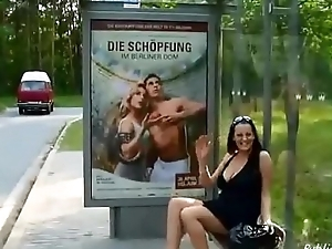 Horny fit together public solo PublicFlashing.me