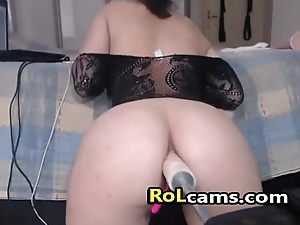 Ass Toying In the air SexMachine