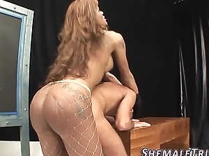 Massive tranny fucks ass