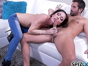 Jessica Jaymes XXX - determined to show him the brush said skills with a nice broad in the beam sensual