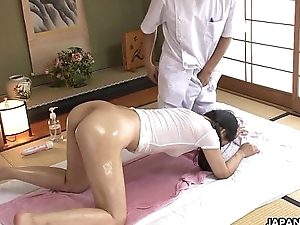 Juicy nuisance Asian slut getting fucked resonant