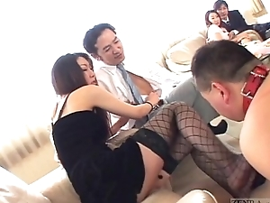 Subtitled Japanese Workaday of Imaginable Delights lovemaking party