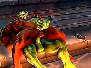 Cheerful Orc Sex Part 4