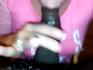 my white bitch sucking me off while her cut corners at feigning pt 1